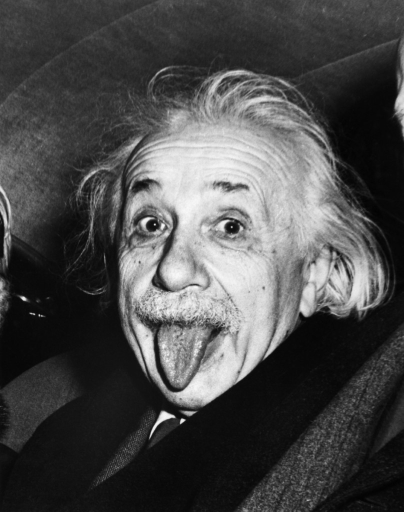 Einstein's Theory of On-Camera Success: Be Entertaining