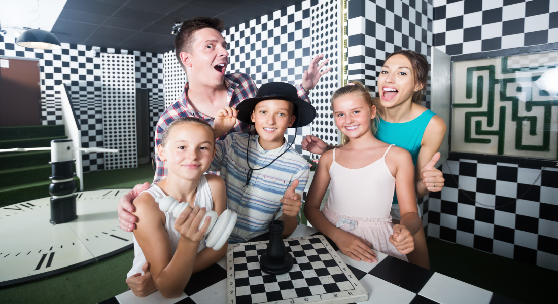 #NOWCASTING: HOST for KIDS + FAMILY Escape Room show from Universal Kids.